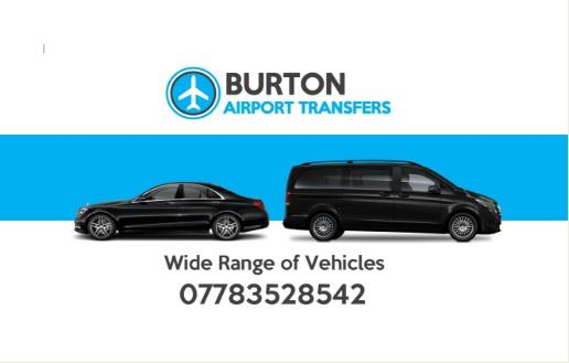 CHEAP AIRPORT TAXIS BURTON ON TRENT